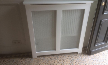 Cache radiateur en bois sur mesure