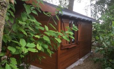 Chalet de jardin en bois sur mesure