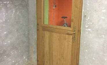 Porte d'intérieur en bois sur mesure