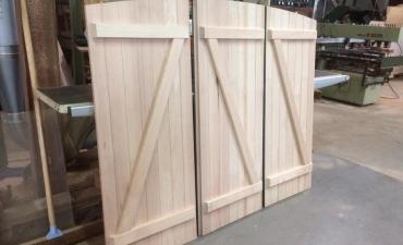 Volets en bois sur mesure